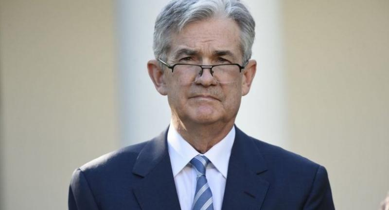Jerome Powell listens as US President Donald Trump announces Powell as nominee for Chairman of the Federal Reserve in the Rose Garden of the White House in Washington, DC, November 2, 2017. / AFP PHOTO