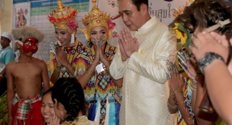 Prayut in the South.