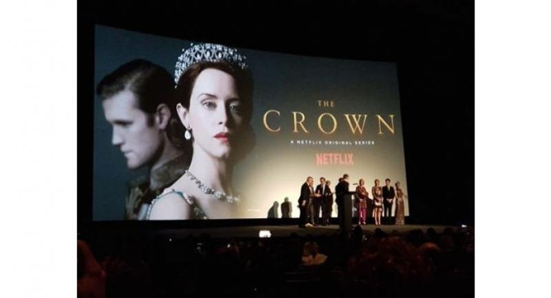 """""""The Crown"""" Season 2 premiered last week at the Odeon Leicester Square in London."""