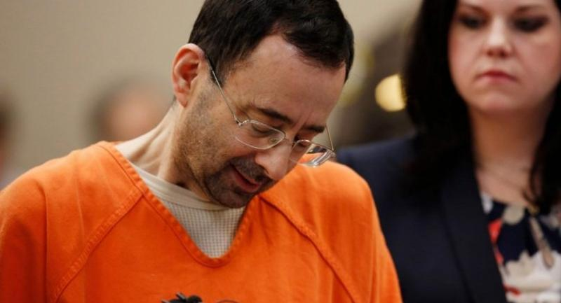 former Michigan State University and USA Gymnastics doctor Larry Nassar