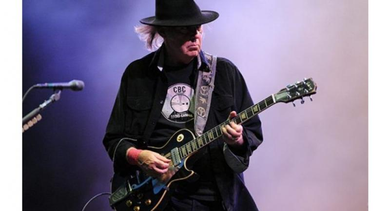 Neil Young's new online archive includes 10 previously unreleased albums. Photo: AFP