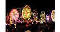 The Sakon Nakhon Christmas Star Procession. Photo: Tourism Authority of Thailand