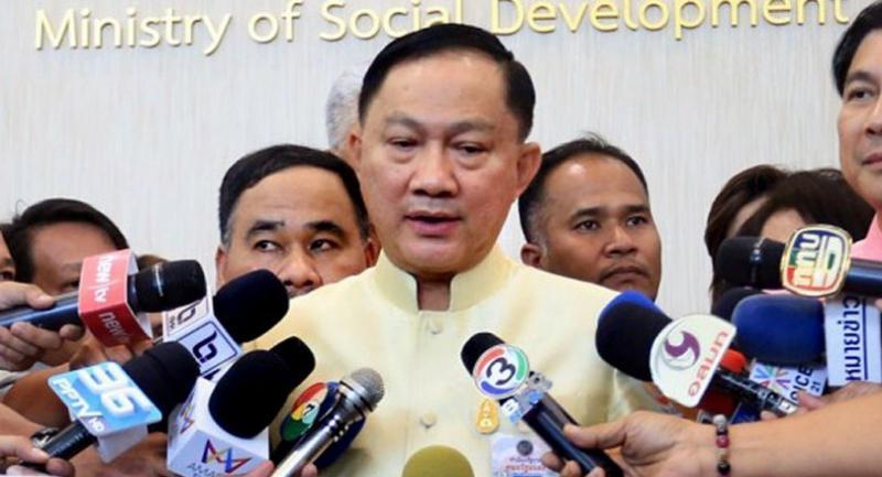 Labour Minister Pol General Adul Sangsingkeo
