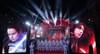 (FILES) This file photo taken on December 12, 2017 shows Stormtroopers on the red carpet for the European Premiere of Star Wars: The Last Jedi at the Royal Albert Hall in London./ AFP PHOTO