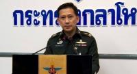 Defence Ministry spokesperson Lt-General Kongcheep Tantrawanich