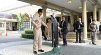 PM Prayut and his standee.