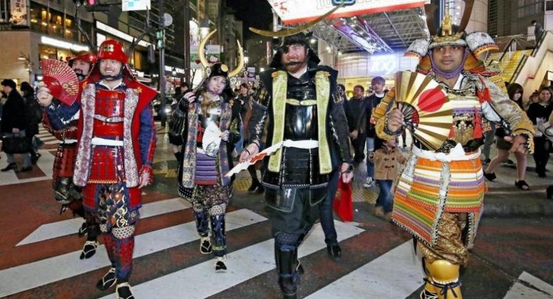 Image result for samurai costume foreigner