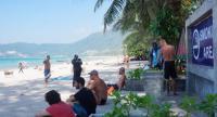 File photo: Smoking area Patong beach in Phuket province.