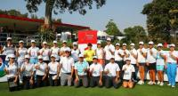 Juniors participating in last year's LPGA Thailand clinic.