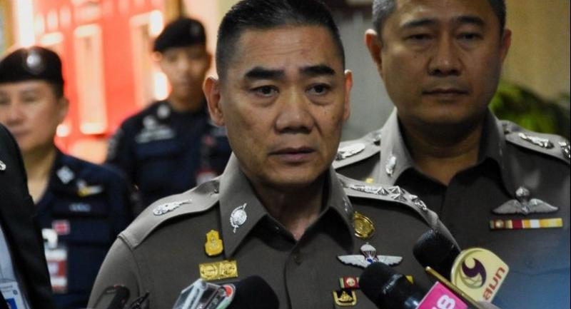 File photo: National police chief Pol General Chakthip Chaijinda