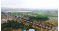 This Dec 15, 2017 photo shows the Kunming to Yuxi section of the China-Laos railway in China's Yunnan province.Laos-China Belt and Road Cooperation Forum kicks off in Vientiane on Feb 2, 2018.(ZHANG XIANGTAO / XINHUA)