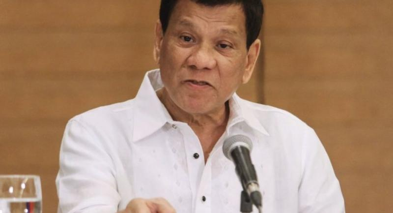 File photo : President Duterte//AFP