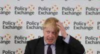 File photo : British Foreign Secretary Boris Johnson//AFP