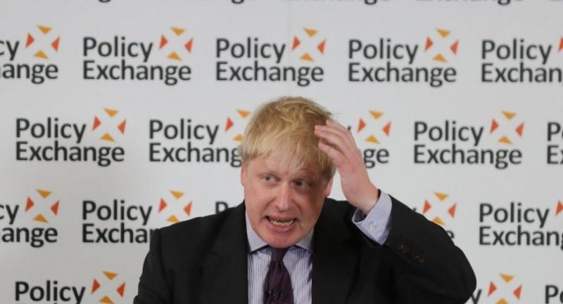 File photo : British Foreign Secretary Boris Johnson//AFP