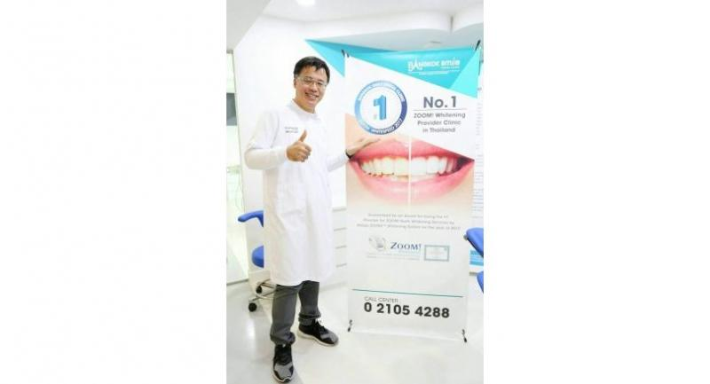 Dr Sermsakul Wongtiraporn, managing director of Bangkok Smile