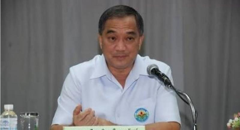 File photo: Mental Health Department director-general Sqn-Leader Boonruang Triruangworawat