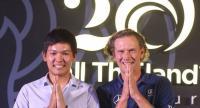 Rising Thai star Pachara Khongwatmai and four-time European Tour winner Marcel Siem.