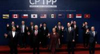 Leaders pose for an official picture after signing the rebranded 11-nation Pacific trade pact Comprehensive and Progressive Agreement for Trans-Pacific Partnership (CPTPP) in Santiago, on March 8, 2018./AFP