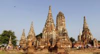 Visitors seem to find Wat Chaiwatthanaram the most photogenic of the old buildings within Ayutthaya Historical Park.