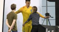 England goalkeeper Nick Pope