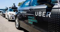In this file photo taken on September 13, 2016, pilot models of the Uber self-driving car are displayed at the Uber Advanced Technologies Center in Pittsburgh, Pennsylvania.//AFP