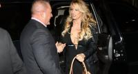 In this file photo taken on March 10, 2018 The actress Stephanie Clifford, who uses the stage name Stormy Daniels, arrives to perform at the Solid Gold Fort Lauderdale strip club in Pompano Beach, Florida./AFP