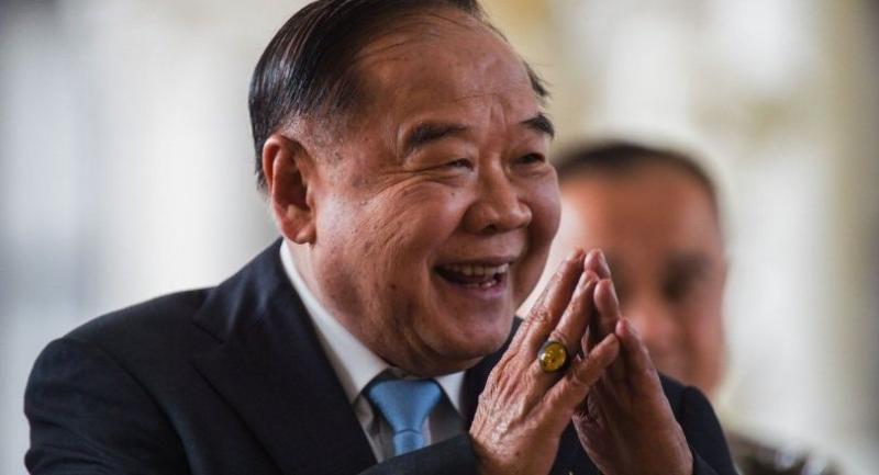 Deputy Prime Minister Gen Prawit Wongsuwan