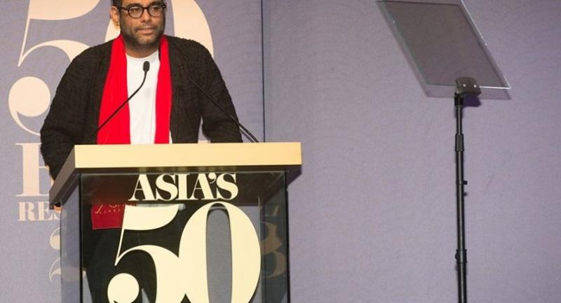 Gaggan Anand of Gaggan, the Best Restaurant in Asia