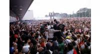 Millions took to the streets in 1998 to call for then Indonesian President Suharto's resignation. British political consultancy SCL Group claims to have arrived in Indonesia after Suharto was brought down that year. PHOTO: THE STAR/ASIA NEWS NETWORK