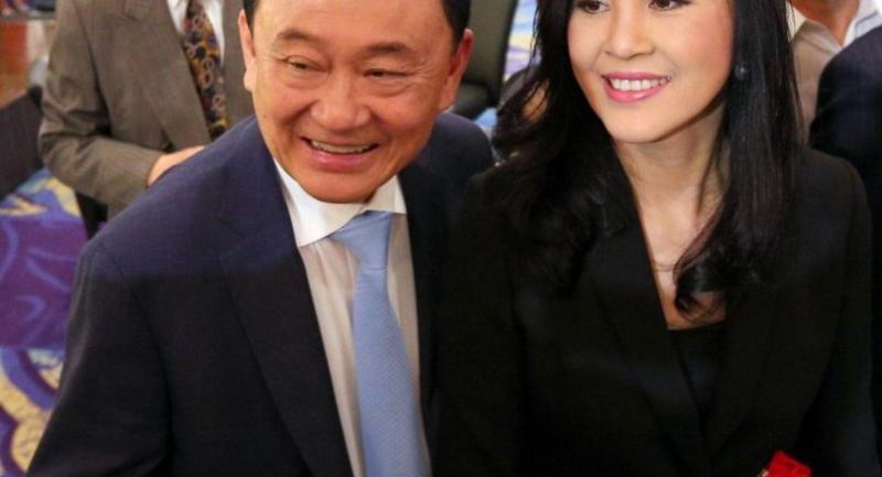 Thaksin and Yingluck in Tokyo last week.