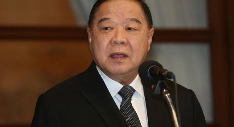 Deputy Prime Minister and Defence Minister Prawit Wongsuwan