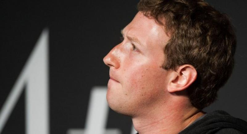 n this file photo taken on September 18, 2013 Facebook Founder and CEO Mark Zuckerberg speaks during an interview session with The Atlantic at the Newseum in Washington, DC./AFP
