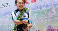 Vietnamese Nguyen Thi That of the World Cycling Centre team. / Nation Photo by Wanchai Krasisornkajit