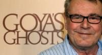 (FILES) In this file photo taken on November 06, 2006 Czech director Milos Forman poses during a press conference to promote his film 'Goya's Ghost' in Madrid.  / AFP PHOTO