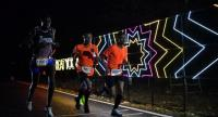 Boonthung Srisung, right , during the night run.