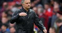 Manchester United's Portuguese manager Jose Mourinho walks off after the English Premier League football match between Manchester United and West Bomwich Albion at Old Trafford in Manchester, north west England, on April 15, 2018.