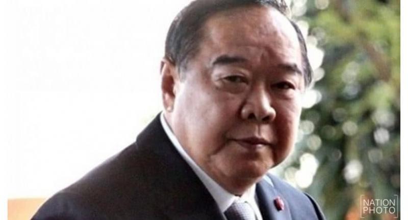 Deputy PM and Defence Minister General Prawit Wongsuwan