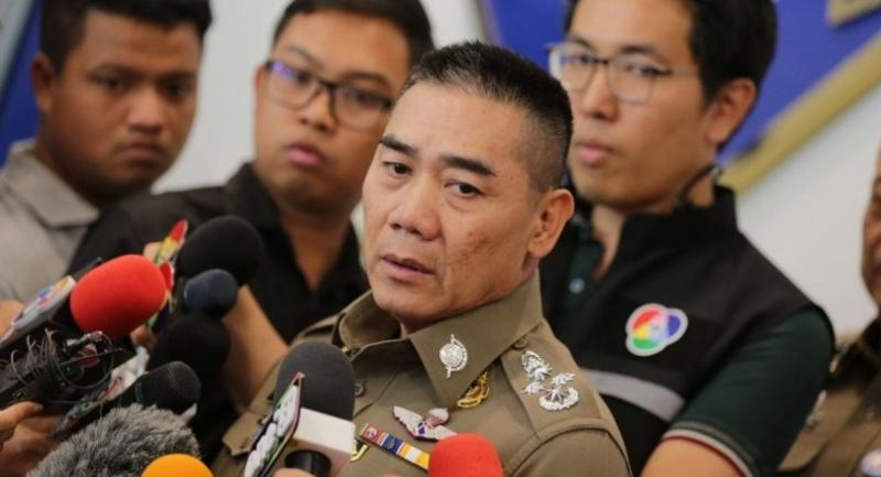 National police commissioner Pol General Chakthip Chaijinda