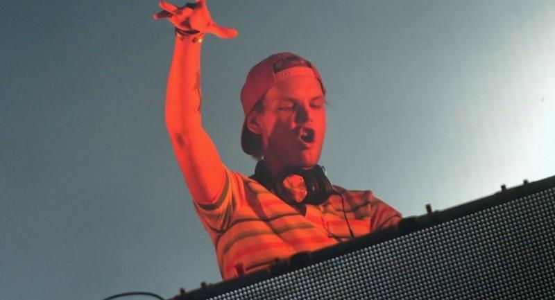 In this file photo taken on August 14, 2015 Swedish DJ, remixer, record producer and singer Tim Bergling, better known by his stage name 'Avicii' performs at the Sziget music festival on the Hajogyar Island of Budapest on August 14, 2015./AFP