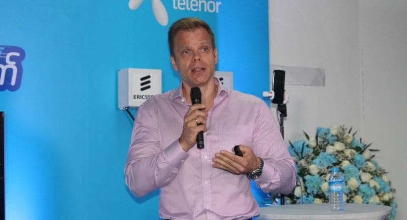 Lars Erik Tellmann, chief executive officer of Telenor Myanmar