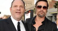 Harvey Weinstein and Bradd Pitt