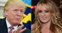 Donald Trump and porn star Stormy Daniels/AFP file photo