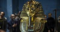 A picture taken on November 28, 2017 shows Golden Mask of King Tutankhamun, on display at the Egyptian Museum in the capital Cairo. //AFP