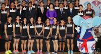 Thailand's Thomas and Uber Cups teams.
