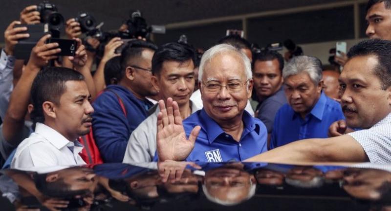 File photo : Najib Razak//EPA-EFE