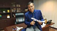 Ronnachai Wongchaoum, vice president of the TG MRO Campus Project Office Department at Thai Airways International Plc (THAI)