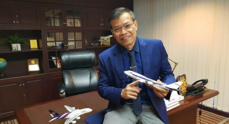 Ronnachai Wongchaoum, vice president of the TG MRO Campus Project Office Department at Thai Airways International Plc (THAI)