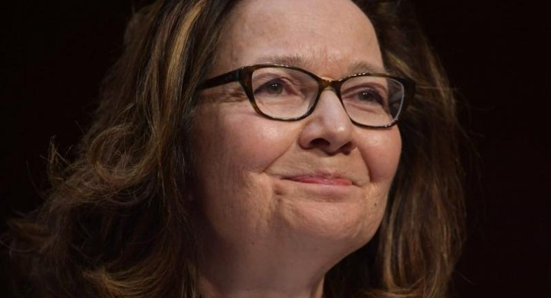 In this file photo taken on May 9, 2018 Gina Haspel testifies before the Senate Intelligence Committee on her nomination to be the next CIA director in the Hart Senate Office Building on Capitol Hill in Washington, DC./AFP