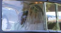 Meghan Markle leaves Cliveden House Hotel, accompanied by her mother, Doria Ragland for the wedding ceremony to marry Britain's Prince Harry, Duke of Sussex, at St George's Chapel. Photo/AFP
