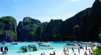 Maya Bay, which currently welcomes more than 3,000 tourists a day, will be closed for its fourmonth rehabilitation and makeover for sustainable tourism.